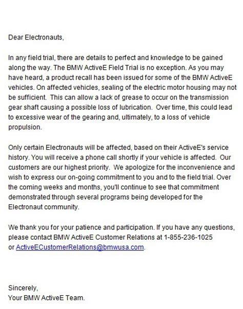 bmw activee motor failures  price  leasing  test car