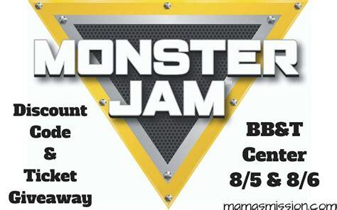 monster truck jam discount code monster jam triple threat series discount code ticket