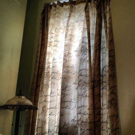 french drapes french script curtains french country pinterest