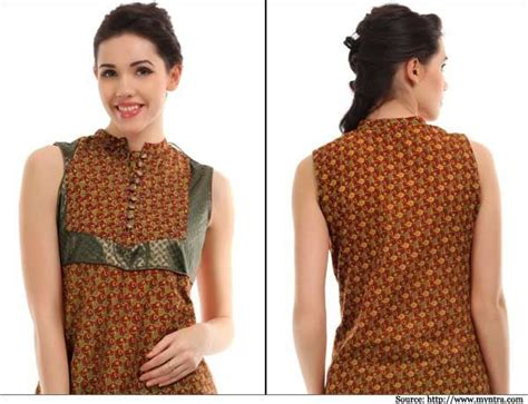 kurta button pattern band gala with buttons kurti designs pinterest