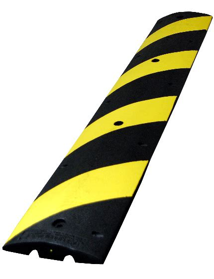 Rubber Speed Bump With Cat rubber speed bumps portable recycled traffic safety