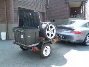 Car Tires On Trailer Track Tire Trailers Pics Hints 911 Hitch Comments
