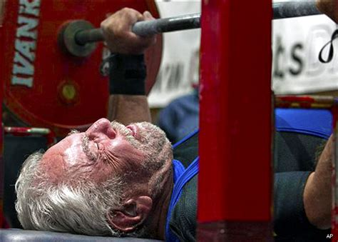 187 Pound Bench Press By 91 Year Old Man Breaks World Record