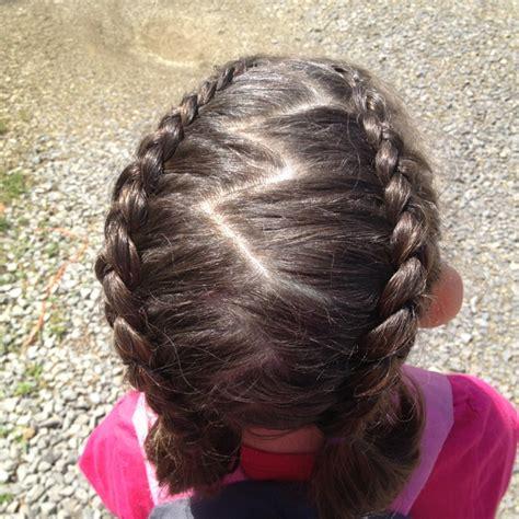 zig zag braids zig zag french braid hair styles pinterest