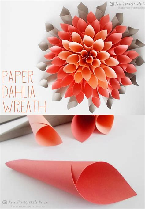 Cool Crafts To Make With Paper - best 25 cool crafts ideas on easy crafts