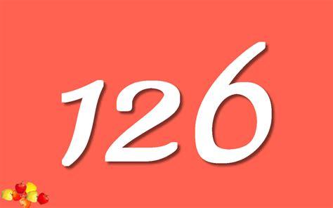 Or Number Numbers Number 126