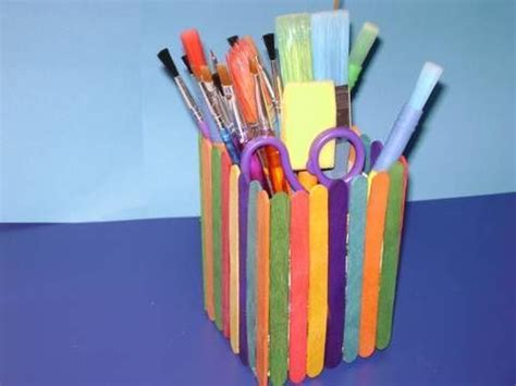 pencil holder craft ideas for how to make a colorful pencil holder with recycled
