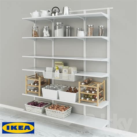 3d Models Other Kitchen Accessories Ikea Wall Tire Algot