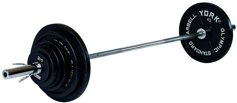 Plate Barbell cast iron olympic weight plate set 210lb or 300lb set york barbell