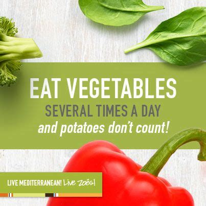 vegetables 3 times a day to eat mediterranean enjoy vegetables several times a day
