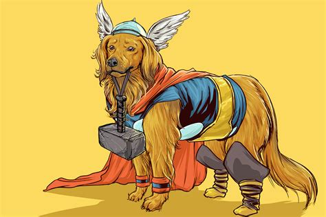 dogs of the marvel universe the awesomer