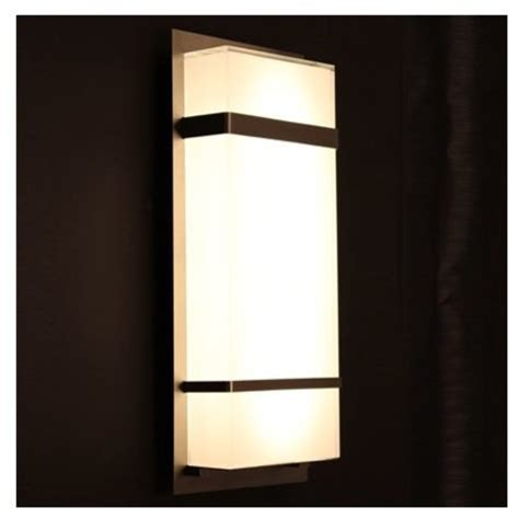 modern outdoor wall sconce phantom indoor outdoor led wall sconce by modern forms
