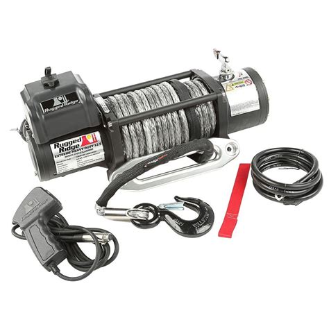 Rugged Ridge Winch Review by Rugged Ridge 12 500 Lb Spartacus Performance Winch With