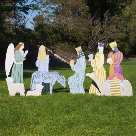 outdoor nativity 9 add on large outdoor nativity outdoor nativity