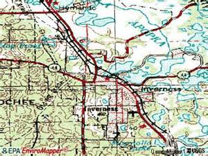 map of inverness florida inverness florida fl 34450 34452 profile population