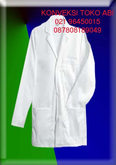 Baju Jas Lab Jas Lab Lengan Pendek Xl konveksi seragam tempat bikin jas laboratorium konveksi toko abi