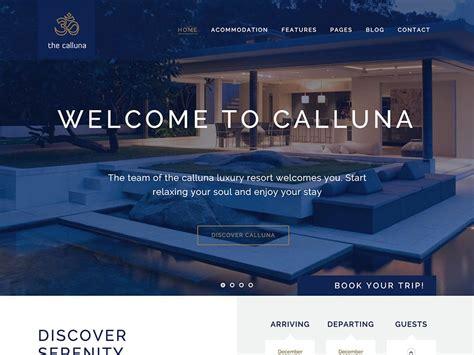 best hotel website 35 best hotel themes 2016 athemes