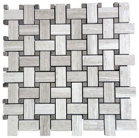 marble basketweave tile bathroom white oak marble basketweave mosaic honed finish floor and