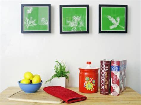 9 easy diy wall art ideas hgtv turn leaves and foliage into diy canvas wall art hgtv