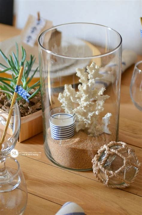 sailor themed centerpieces 25 best ideas about nautical table on