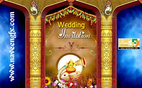Wedding Invitation Banner Design by Indian Wedding Banner Psd Template Free Wedding