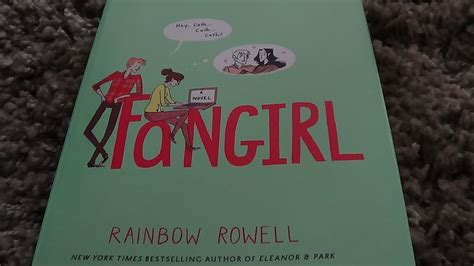 and the rainbow who stayed books book review fangirl by rainbow rowell library of mallory