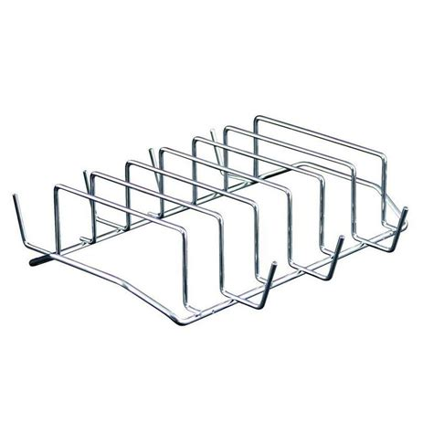 Rib Rack For Grill by C Chef Rib Rack Grill Accessory Ribrk The Home Depot