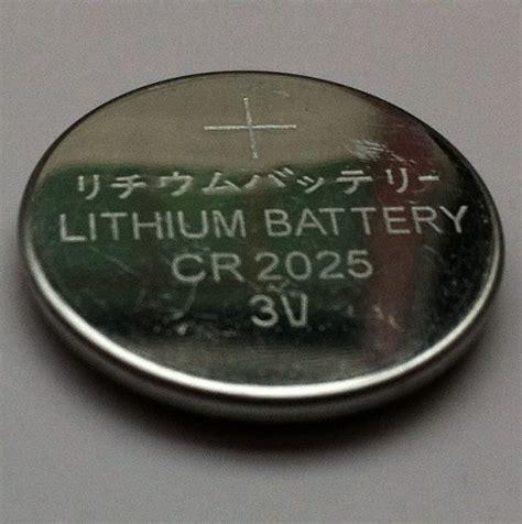 batere cr 2025 07313 pin lithium cr2025 3v