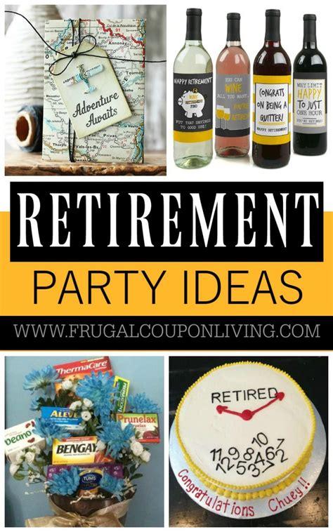 retirement party ideas