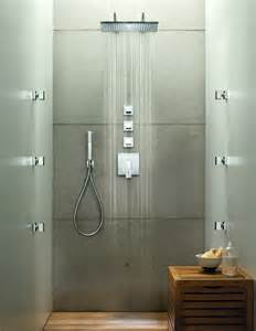 Plano complete shower w double rain head jack london