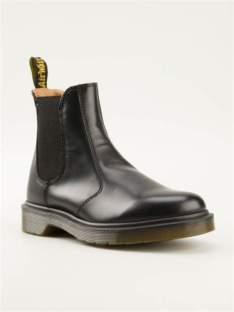dr martens 2976 chelsea boots in black lyst