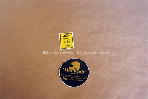 Bmw K1 Aufkleber by K100 K1100 Or K1 Abs Fork Sticker Heritage Stickers