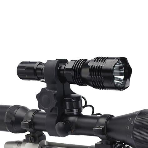 gun mounted predator hunting lights cyclops vb250 rifle scope mounted night hunting led