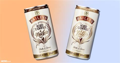 Baileys Coffee baileys iced coffee in a can is here in latte and mocha