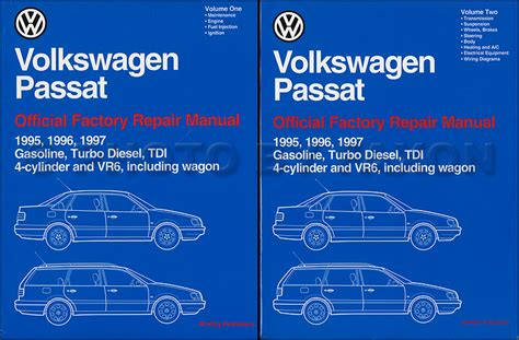 book repair manual 1994 volkswagen passat auto manual 1995 1997 vw passat repair shop manual 2 volume set