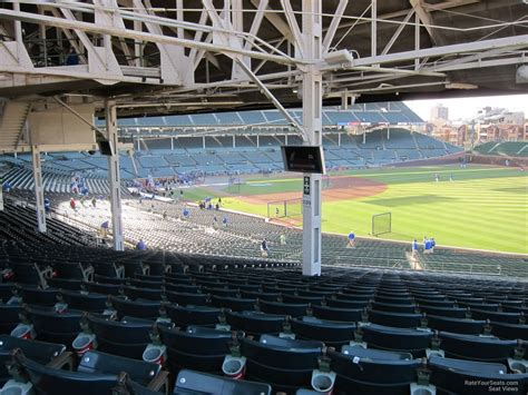 wrigley field view from seats chicago cubs wrigley field section 239 rateyourseats