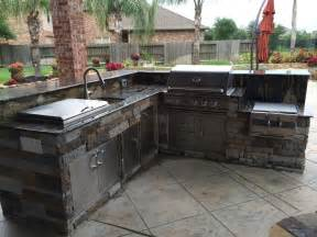 outdoor appliances houston outdoor homescapes - Outdoor Kitchen Appliances Houston