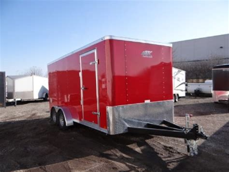 enclosed landscape trailers enclosed victory 7 x 16 aluminum trailer company landscaping trailer advantage trailer