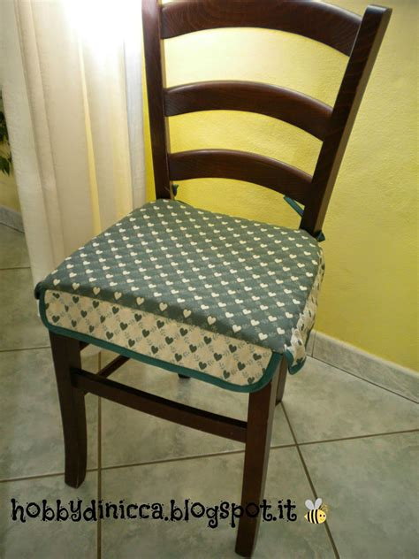 cuscini per le sedie hobby di nicca cuscino per sedie tutorial cuscini
