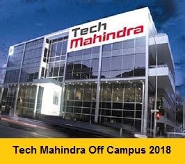 Tech Mahindra Careers For Mba Freshers by Tech Mahindra Cus 2018 Drive For Freshers Be B