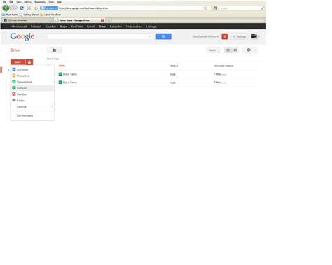 cara membuat google driver cara membuat form di google drive blog anak indonesia