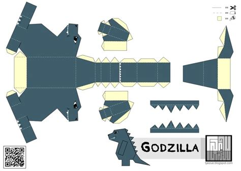 Godzilla Papercraft - 36 best images about projects on