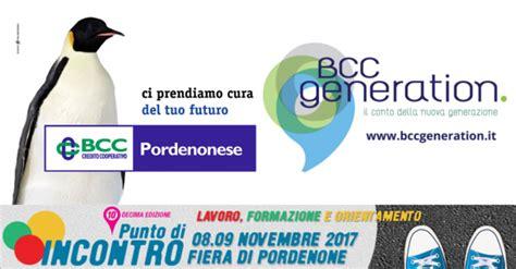 bcc pordenonese bcc pordenonese partner di punto di incontro 2017