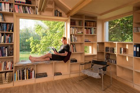 Garage Designs With Living Space Above old garage is transformed into a daylit treehouse like