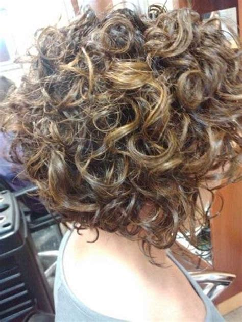 pictures of the back of curly stacked hair stacked bob haircut for curly hair www imgkid com the