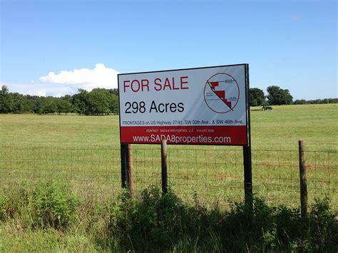 acreages for sale how to sell lots and land