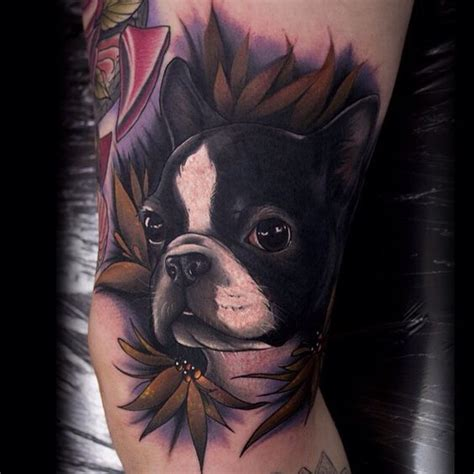 boston terrier tattoo the 10 coolest boston terrier designs in the world