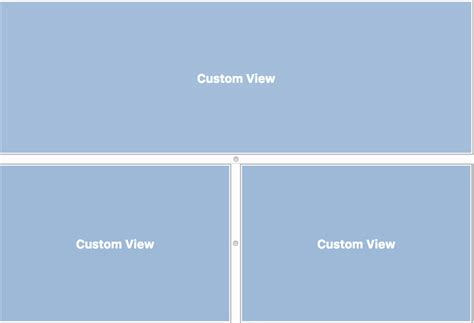 xamarin nested layout how do i implement nested nssplitview like below