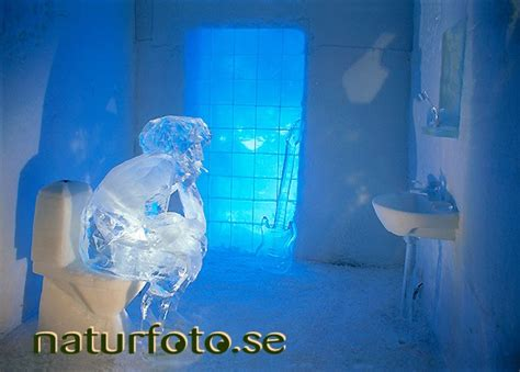 Spa Bathroom Design ishotellet icehotel naturfoto
