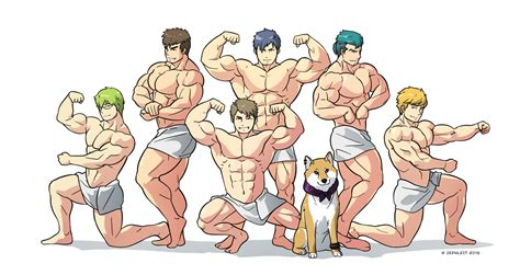 Towel Men By Zephleit On Deviantart